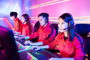profesjonalna drużyna e-sportowa