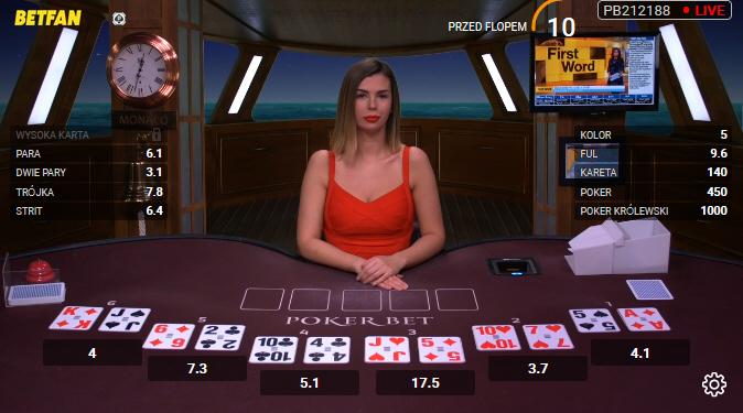 poker w Betfan
