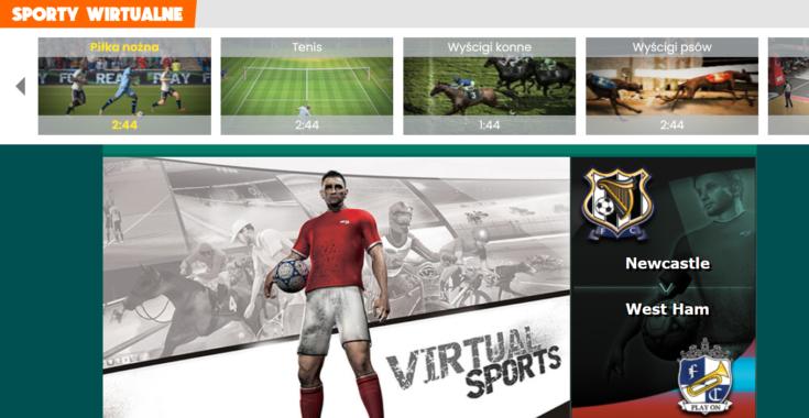 Wirtualne sporty - BetFan