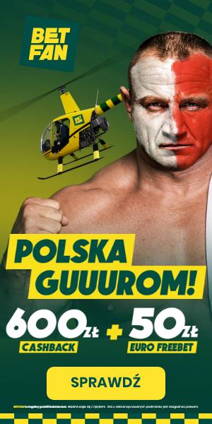 Betfan - 600 zł + 50 zł