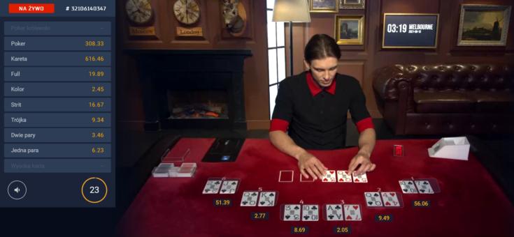 Gry karciane - poker w STS