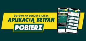 Betfan - bonusy z aplikacją