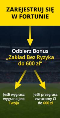 Fortuna - bonus powitalny