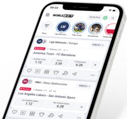 Noblebet - aplikacja mobilna