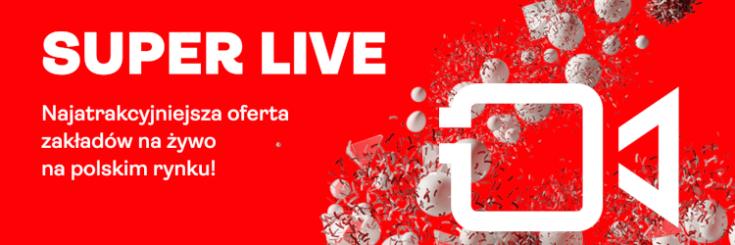 Superbet - zakłady live
