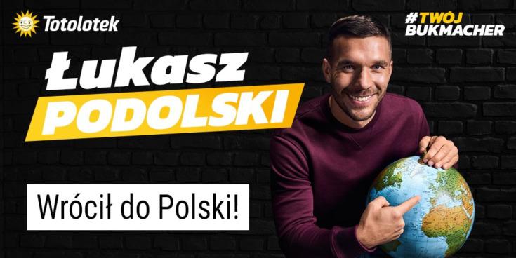 Totolotek i Łukasz Podolski